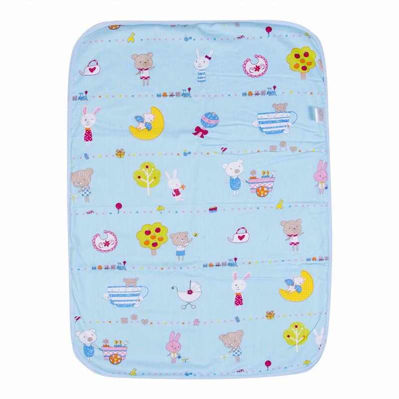 Pañal de bebé cambiador de almohadilla de algodón cambiador de pañal ecológico mesa de dibujos animados bebé colchón de cama impermeable cubierta de alfombra de cambio infantil