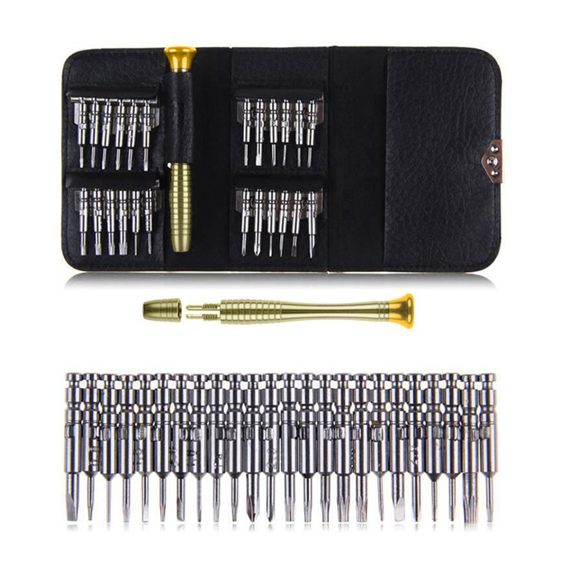 25 In 1 Mobile Phone Repair Tools Kit Torx Screwdriver Set Multi-tool Hand For IPhone