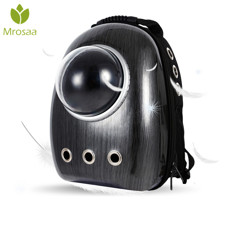 Hot Pet Dog Carriers Bags Space Backpack PC Capsule Bag Three Air Holes Breathable Pet Carrier Cat Bags Outdoor Travel bag