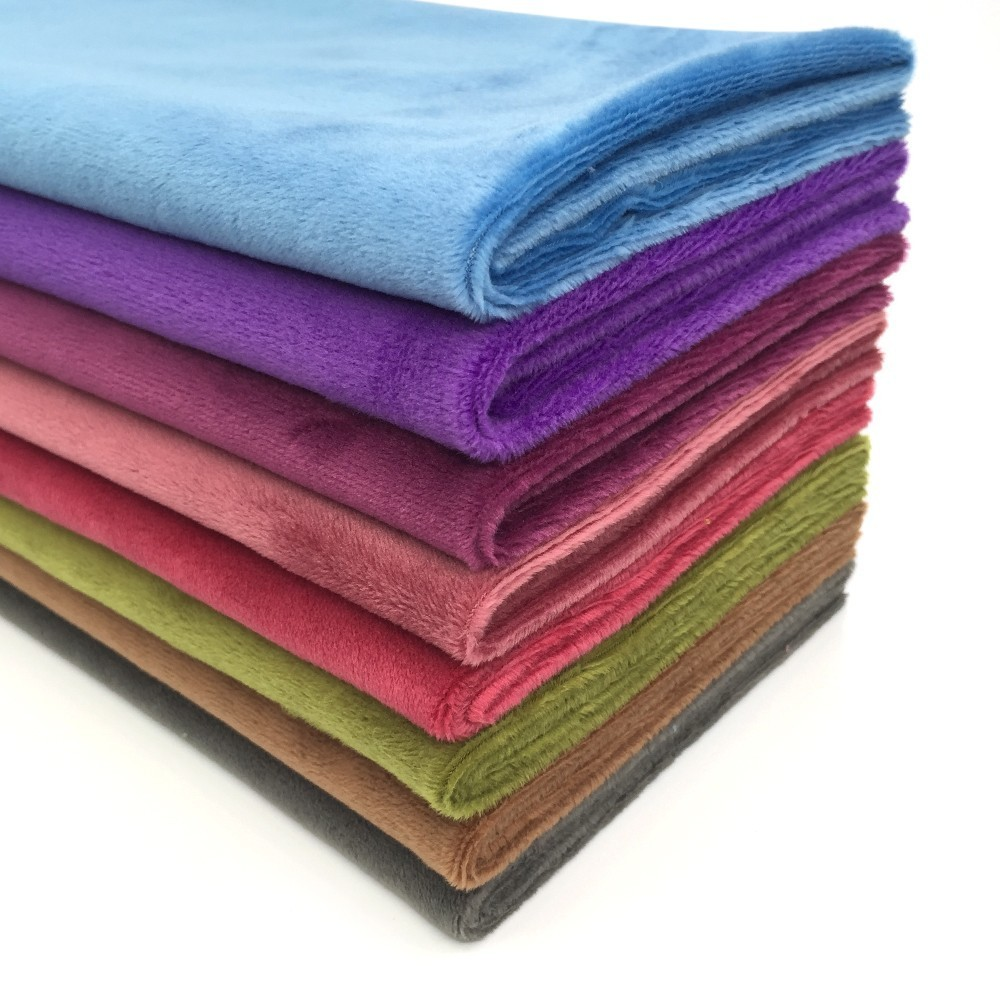 New 100/% Polyester Faux Suede Fabric Material Craft Quilting in 8 great colours