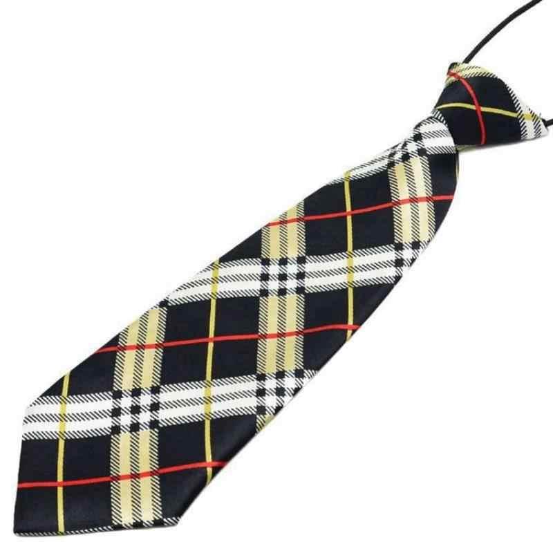 Fashion Anak Laki-laki Anak Perempuan TK Seragam Sekolah Anak Dasi Striped Kotak-kotak Dasi