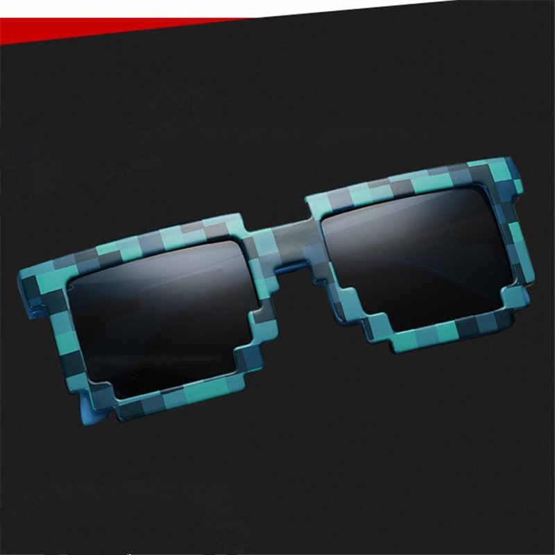 8f9ce19bfa Minecraft puntos gafas de sol pixelada de 8 bits gafas de sol Pixel mosaico  gafas de