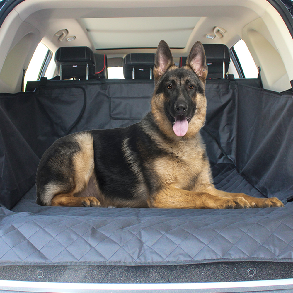 Dog Carriers Seat Covers For Cars Oxford Pet Dog Trunk Cargo Liner  Waterproof Non-slip Pets Car Seat Protector For Dogs Cats
