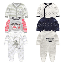 2020 3 Teile/los Baby Jungen Kleidung Baby Bodys Mädchen Kleidung Baumwolle 0 12M Baumwolle Baby Mädchen Kleidung Neugeborenen ropa bebe Floral