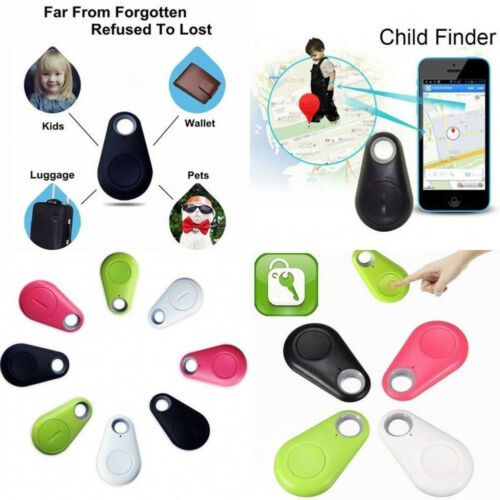 1Pc Spy Mini GPS Tracking Finder Device Locator Tag Alarm Wallet Key Auto Car Pets Kids Motorcycle Tracker Track image