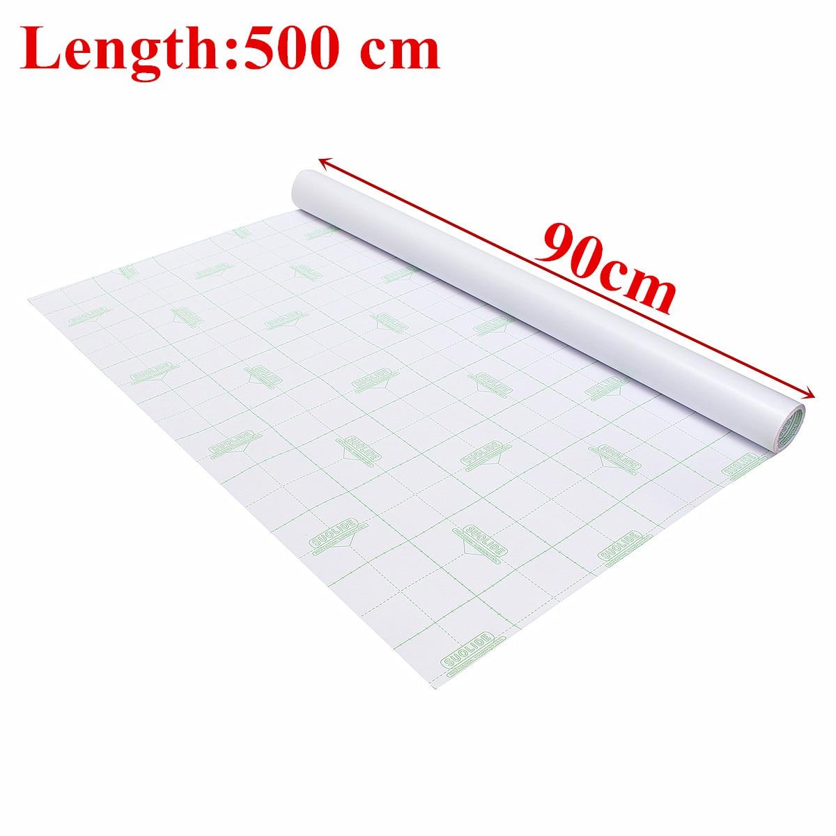 Teinte de confidentialité de fenêtre givrée 90 cm x 500 cm Film de PVC de verre pour bricolage maison/bureau/magasin décor à la maison salle de bains fenêtre teinte de verre