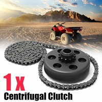 For Minibike Go Kart 3/4 Bore Centrifugal Automatic Clutch 12 Tooth 35 Chain Screw Sets
