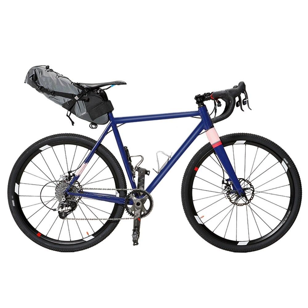 Sac de selle de vélo sac de cyclisme étanche 3L-10L sac FoldableTail pour vélo vtt sac de sacoche de siège de vélo