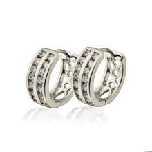 Женские маленькие серьги кольца e1420 бижутерия