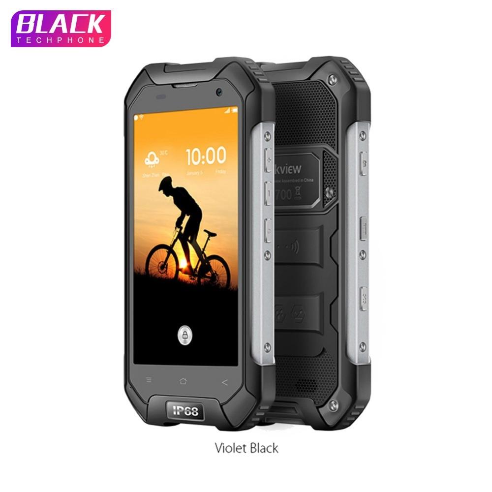 Blackview BV6000S Smartphone IP68 Étanche MT6735 Quad Core 4200 mAh 2 GB RAM 16 GB ROM 13MP 4.7 pouces Android 6.0 4G Téléphone Portable
