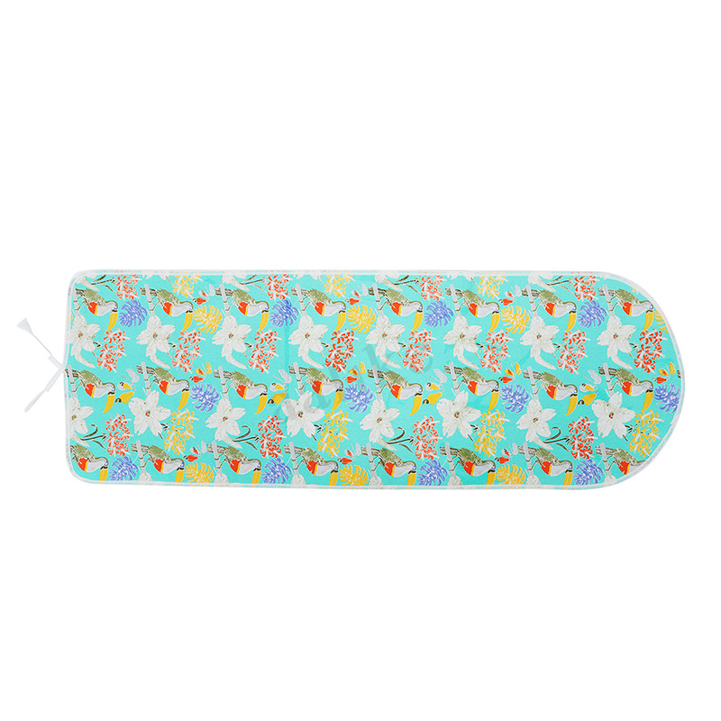 Spring Flower Ironing Board Cover Pad Fits 20 x 55 Ironing Board Thick Padding Resists Scorching /& Staining Ironing Board Pads with Elastic Edges
