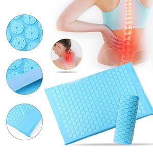 Image 5 - Hot Acupressure Massager Mat Cushion Relieve Relaxation Body Foot Back Stress Pain Spike Mat Acupressure Yoga Mat with Pillow
