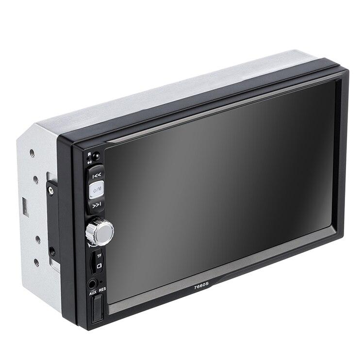 2 Din autoradio Audio stéréo Mp5 lecteur Support 7 pouces Bluetooth presse écran