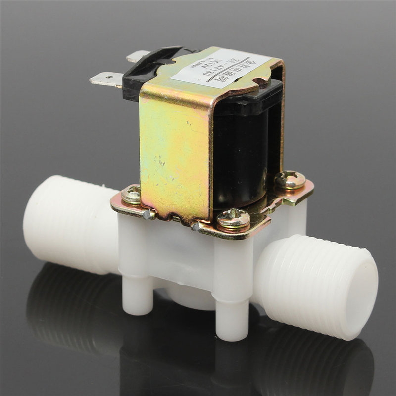 Новые 1/2 дюйма новый Электрический электромагнитный клапан 12 V Магнитная DC N/C воды впуска воздуха коммутатором потока DC12V 5 W 80 х 35 х 55 мм