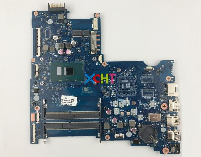 903793 601 UMA w i5 7200U CPU BDL50 LA D707P for HP Notebook 15 ay Series 15T AY100 PC Motherboard Mainboard Tested