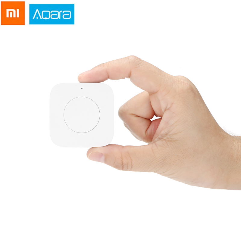 Original AQara WXKG12LM Wireless Smart Switch Intelligent App Remote Control / Doorbell For Smart Devices XIAOMI MI Home