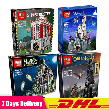 Lepin 16001 16007 16008 16010 The Lord of The Rings Model Clone LegoINGlys 75827 10228 71040 10237 Blocks Toys for Children Gift скуби ду лего
