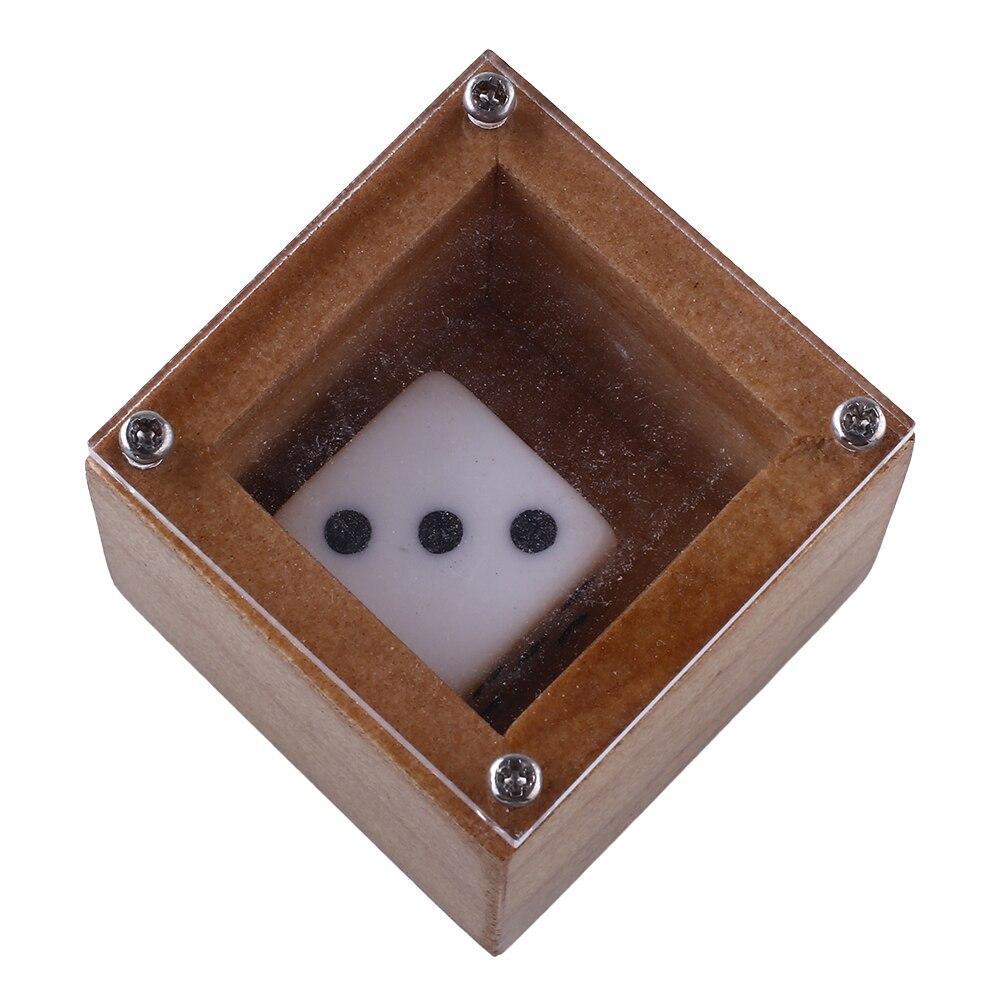 Удивительные Веселые кости высечки из дерева Боба Магическая Иллюзия загадочный реквизит волшебник трюк игральные кости ум магический реквизит