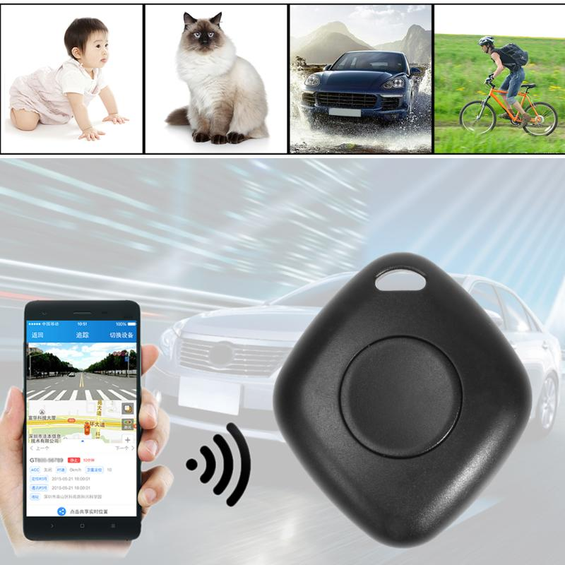 VODOOL Mini Bluetooth Tracking Device Car Motor Vehicle Tracker Locator Waterproof Remote Control Child Kid Pet Antilost Tracker image