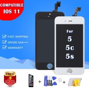 Image 5 - أفضل AAA عرض آيفون 5s 5C 5 شاشة LCD تعمل باللمس محول الأرقام الجمعية استبدال A1453 A1457 لا الميت بكسل بقعة شحن مجاني