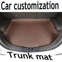ZHAOYANHUA Custom fit Elevado lado esteiras Mala do carro para Peugeot 408 508 607 2008 3008 4008 206 207CC 301 307CC 308 S RCZ