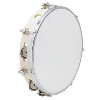 10 in Tambourine Capoeira Leather Drum Samba Brasil Wooden Precussion Music Instrument For Sale 150 D
