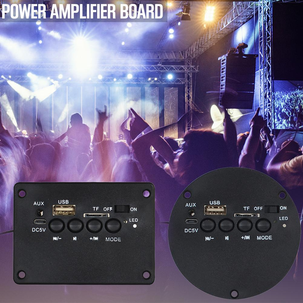 Bluetooth 5V Digital Power Amplifier Board High Power Subwoofer Audio PCB Board Subwoofer LCD Controller Board