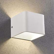 Indoor led wall light 5W Cube aluminum sconce Modern home decorate Up down lamp
