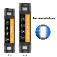 6 In 1 Outdoor Mosquito Lamp Waterproof Emergency Rescue Warning Light Self service Portable Lighting Outdoor Camping Gadget
