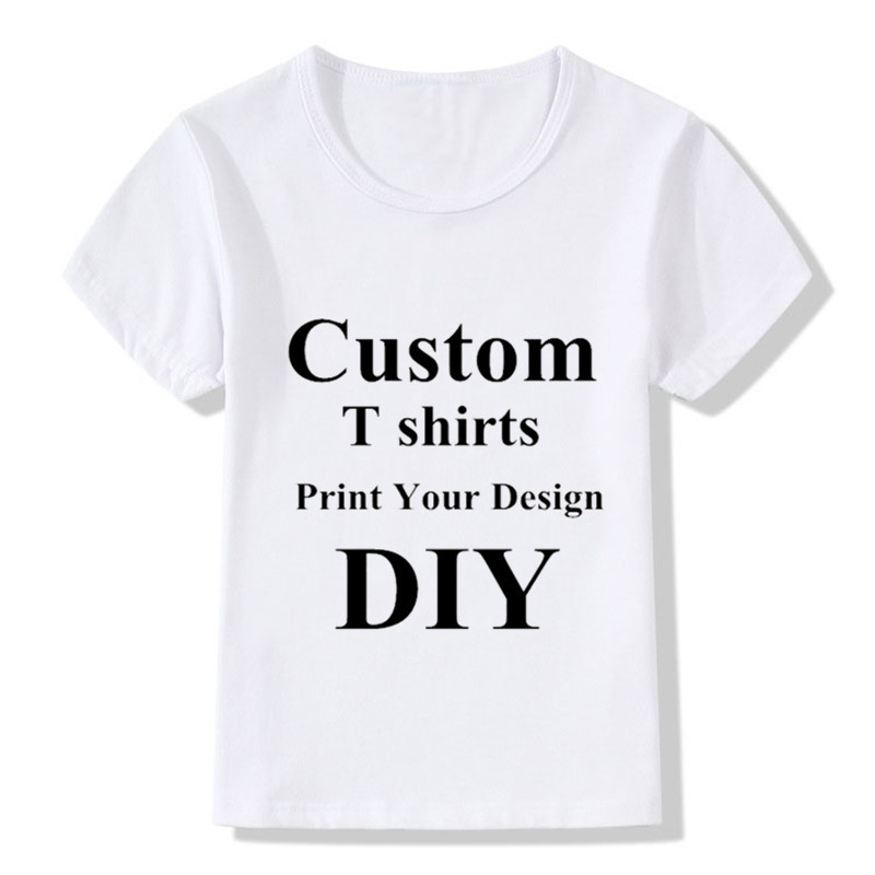 Custom Chirdren T shirts DIY Print Your Design Kids T shirts Boys/Girls DIY Tee Shirts Printing,Contact Seller Frist|T-Shirts| - AliExpress