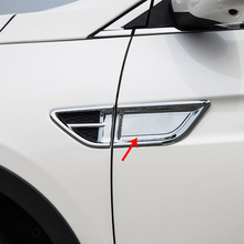 2pcs for dongfeng AX7 2015-2018 Body outlet Decorative strip