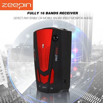 12V V7 Car Trucker Speed Radar Detector Voice Alert Warning 16 Band Auto 360 Degrees US Warehouse For Clearance