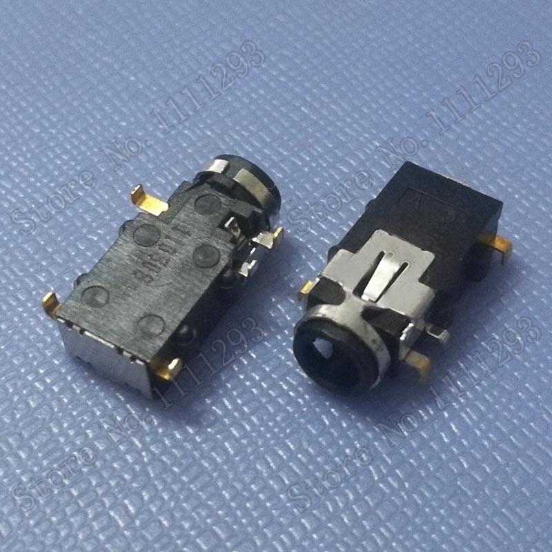 5pcs/lot Audio Combo Jack Socket Connector for Lenovo etc Laptop Headphone MIC Port 5-pin
