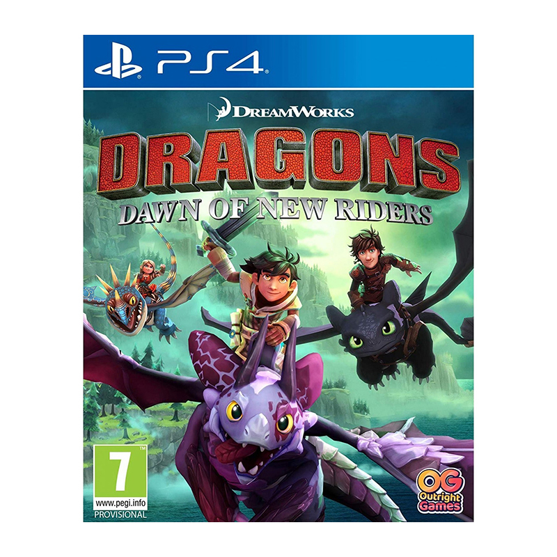 лучшая цена Game Deals Sony Playstation 4 Dragons Dawn of New Riders