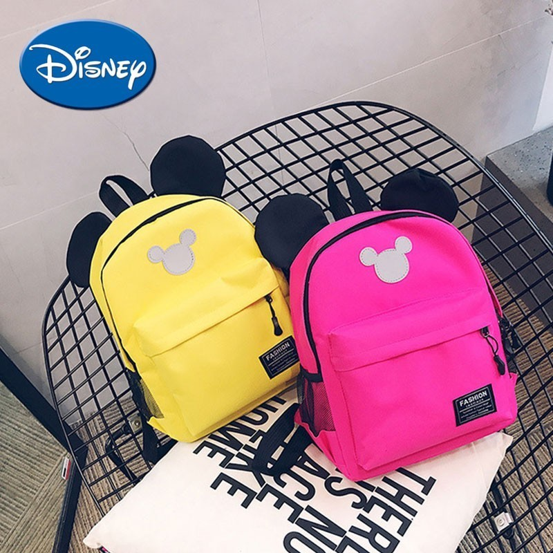 Disney Diaper Bag Backpack Cartoon Mickey Baby Bag Large Capacity Maternity Bag Fashion Multi Color Mummy Backpack