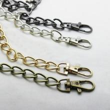 Replacement Purse Chain Strap Handle Shoulder Crossbody Handbag Bag Metal Gold Silver Bag Strap Fashion Bags Chains New Style цена 2017