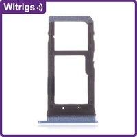 WITRIGS para HTC U11 Substituição Bandeja Cartão Sim Titular Slot Para Cartão Micro SD|Cartão SIM/SD Bandejas|   -