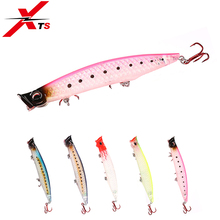 XTS Fishing Lure Wobblers 90mm 110mm 123mm Hard Bait 5 Colors Minnow Popper Topwater Floating Jerkbait 3508
