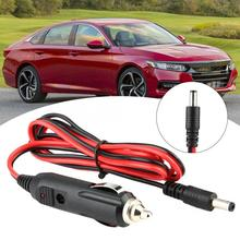 1224V Universal Car Charger Cigarette Lighter Power Plug Cord Adapter Cable car professional accessories Black