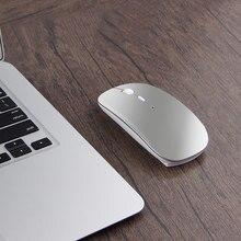 Bluetooth mouse para apple macbook ar pro retina 11 12 13 15 16 mac livro portátil sem fio mouse recarregável mudo jogo mouse