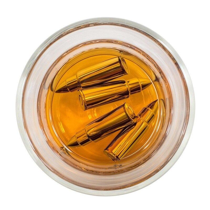 LM Creative 304 En Acier Inoxydable Whisky Glaçons Seau Magique Vodka Refroidisseur De Bière Bar KTV Whisky Cabinet Machine À L'eau Froide outil