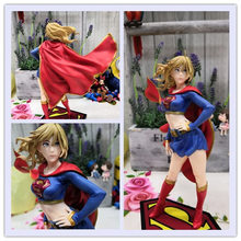 Justice League DC Comics Universe Supergirl Return Back Bishoujo Complete Figure Super Girl Toy 21cm Collectible Model Doll Gift(China)