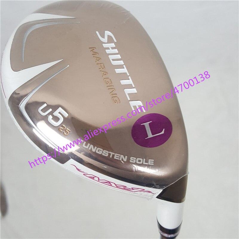 New women's Golf clubs Maruman SHUTTLE Golf Hybrid wood U5 clubs Graphite Golf shaft Cover Free shipping