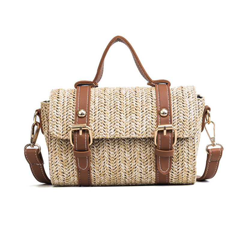 Luggage & Bags Rapture Women Summer Fashion Handbag Ins Popular Female Casual Straw Bag Holiday Lady Shoulder Bag Travel Knitted Tote Bolsa Ss7219 Delicacies Loved By All