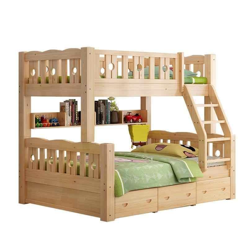 Meble Kids Modern Bett Single Yatak Odasi Mobilya Tempat Tidur Tingkat bedroom Furniture Mueble Cama Moderna Double Bunk Bed