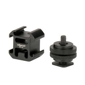 Image 3 - Ulanzi 0951 Hot Shoe adapter do montażu na aparacie przedłużacz do Canon Pentax lustrzanka cyfrowa do mikrofonu Monitor światło led do kamery