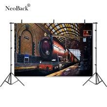 Thin Vinyl Hogwarts Express Train baby children kids custom Banner Photography Background professional studio Photo Backdrop