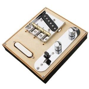 Image 3 - 85.5x77x10.5mm Guitar Neck Pickup w/ Bridge Line zestaw talerzy do gitary elektrycznej Telecaster oferta Perfect Tone