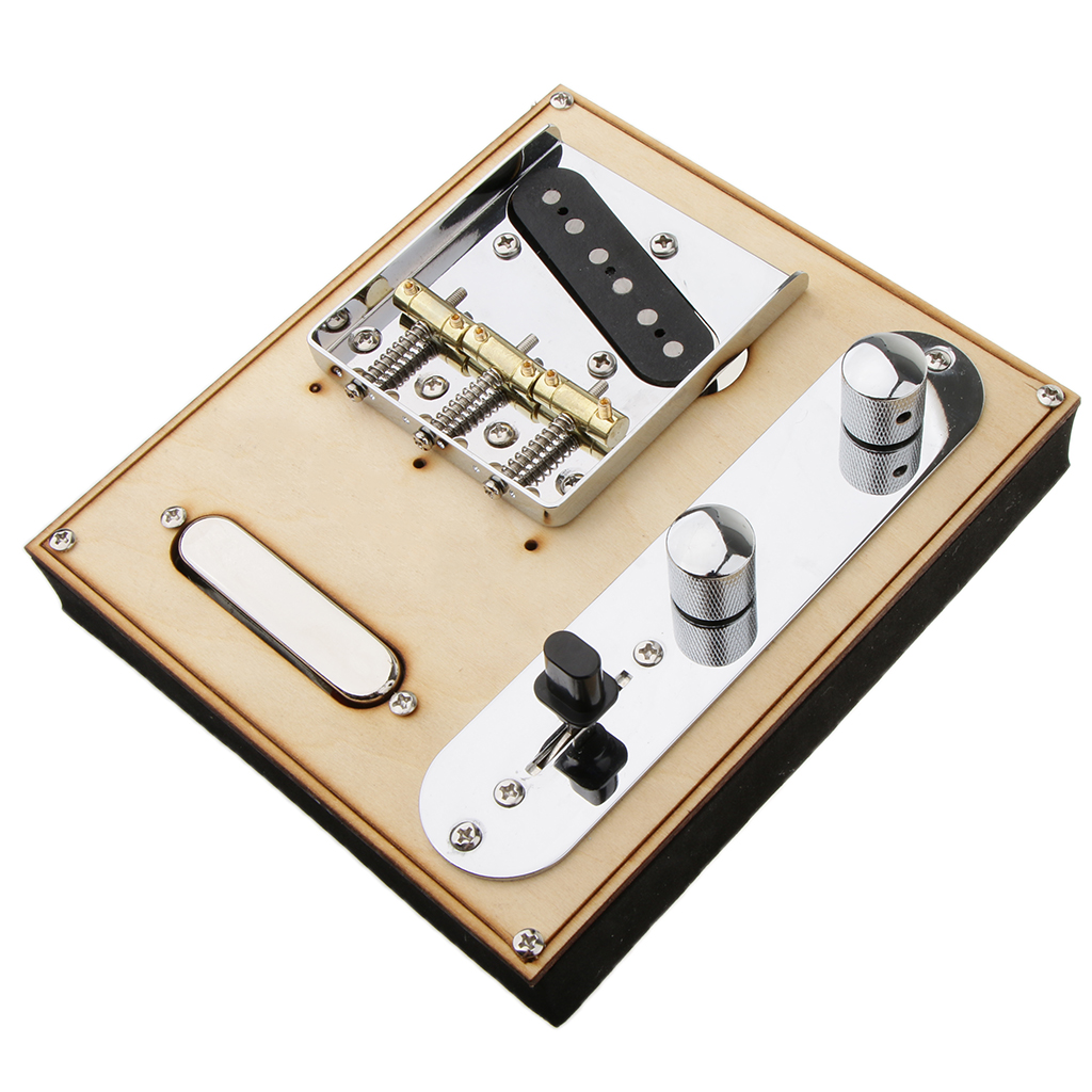 85.5x77x10.5mm guitare cou pick w/pont ligne plaque ensemble pour Telecaster guitare électrique offre ton parfait