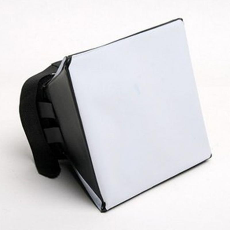 Portable Mini Softbox Diffuser Photography Speedlight Flash Universal For DSLR